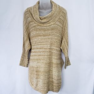 Anthropologie Thistle & Lavender Marled Sweater S